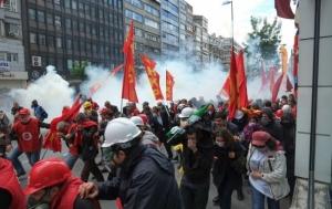 Турция, Стамбул, полиция, митинг, протест, Тахир Эльчи, курды, терроризм, мир