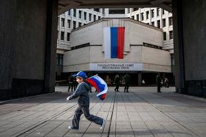 Крым, казаки, Аксенов