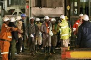 ЮАР, шахта, рудник, происшествия, пожар, шахтеры