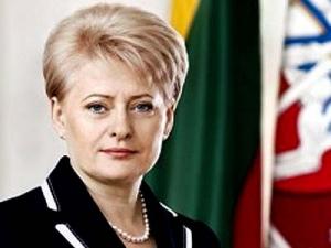 Грибаускайте, Литва, Россия, политика, Евросоюз, НАТО, Украина