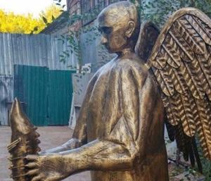 путин, скульптура, астрахань, подарок