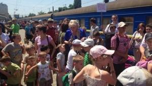 юго-восток Украины, АТО, Донбасс, Донецкая область, Луганская область, беженцы и эмиграция