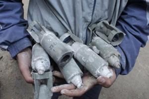 обсе, луганск, кассетные бомбы, всу ,армия украины, ато, донбасс, Александр Мотузянык