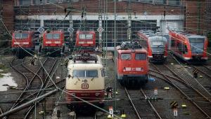 германия, железнодорожники, забастовка, происшествия, общество