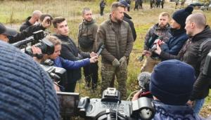 Андрей Билецкий, Нацкорпус, разведение войск, акция протеста, Золотое