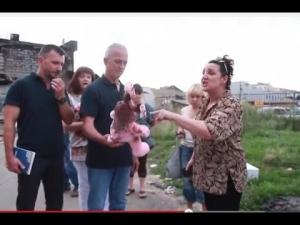 ОБСЕ, обстрелы, Луганск, подарок, Порошенко