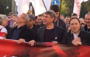 Марш, Мир, Москва, Немцов, Касьянов, драки, яйца, оппозиция