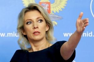 россия, мид россии, захарова, украина, ато, буякевич, скандал