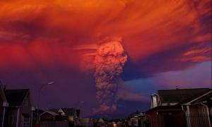 Чили, вулкан, катастрофа, общество