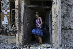 ОБСЕ, Украина, Донбасс, Ясиноватая, подвалы