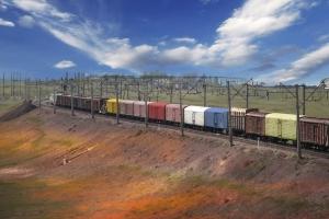 Казахстан, Россия, железная дорога, вагоны