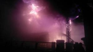 """""""Южно-Украинская АЭС"""", пожар, Николаев, ночь, горели"""