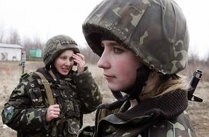 женщины, минобороны, курс молодого бойца