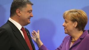 Порошенко, Меркель, политика, новости Украины