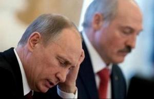 лукашенко, путин, скандал, россия, беларусь, кредит