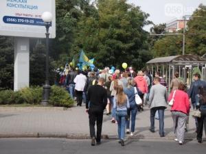 новости украины, новости днепропетровска, нато, евросоюз, марш мира