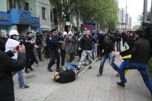 донецк, ато, днр. восток украины, происшествия, общество, митинг, денис казанский