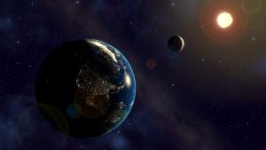 космос, земля, звезда, солнце, жизнь, человечество