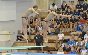 прыжки в воду, чемпионат европы, плавание, баку 2015, европейские игры