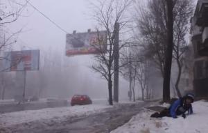 обстрел, Киевский район Донецка, днр, ато, восток украины