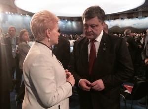 Украина, телевидение, общество, литва, сми, порошенко, встреча, грибаускайте