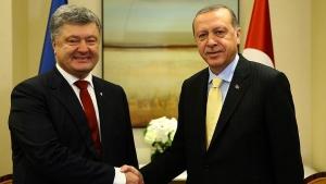 визит Эрдогана в Киев, Реджеп Эрдоган, Петр Порошенко, новости Украины, новости Турция