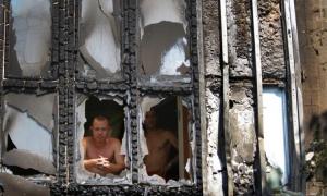 Донецк, обстрел, 14 августа, видео