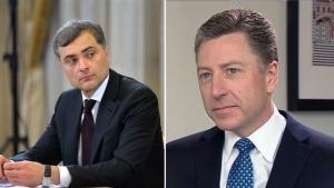 сурков, волкер, встреча, сша, россия, новости украины