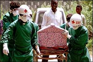 Эбола, врачи, неизвестные, нападение, лихорадка