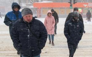 одесса, фото, снегопад, метель, прогноз погоды, погода в одессе, похолодание, 1 марта