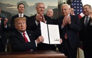 США, политика, Дональд Трамп, встреча, израиль, Голанские высоты