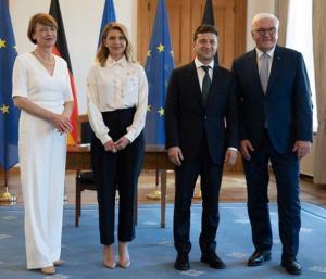 фрг, елена зеленская, первая леди, президент украины, владимир зеленский, визит,  фото