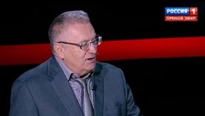 Владимир Жириновский, Украина, российское телевидение, ненависть к Украине