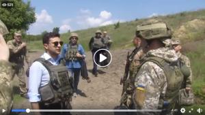 Война на донбассе, владимир зеленский, президент украины, донбасс, оос, фото, армия украины, всу, новости украины