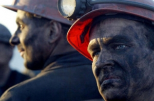 селидово, украина, шахтеры, горняк, донбасс,  забастовка, михаил волынец