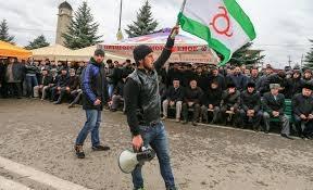 Ингушетия, новости, протесты, Магас, передача земли Чечне, голосование