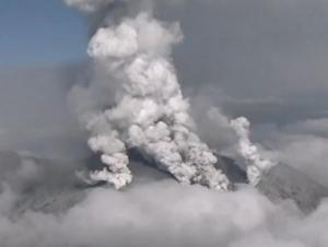 япония, вулкан, онтакэ