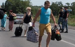 россия, донбасс, юго-восток украины, беженцы, ато