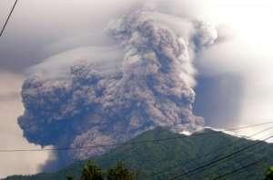 Индонезия, общество, вулкан, извержение, происшествие