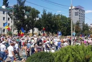 политика, молдова, протесты, додон, смешанная избирательная система