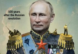 россия, путин, царь, Economist, скандал, обложка