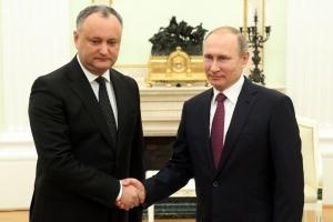 новости, Россия, Молдова, парламентские выборы, Путин, Додон, шантаж, Голобуцкий