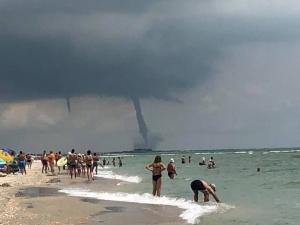 Одесса, Приморское, смерч, торнадо, Черное море, природа, погода