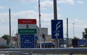 венгрия, граница, закарпатье, мукачево, автомобиль