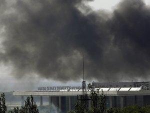 донецк, аэропорт в донецке, юго-восток украины, армия украины, днр, общество, нацгвардия, вс украины, мэрия донецка