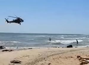 Донбасс, Мариуполь, вертолет, самолет, пляж, люди, местные