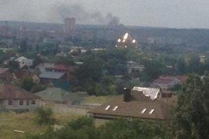 луганск, взрыв, каменнобродский, район, полигон, боевики, змей, горыныч