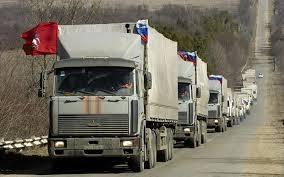 Гуманитарный, конвой, Ростов, Донбасс, Россия, машины, груз, доставили, десятый