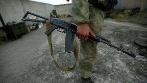 солдат. застрелен
