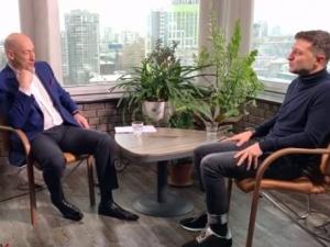 зеленский, порошенко, выборы президента в украине 2019, интервью гордону, бпп